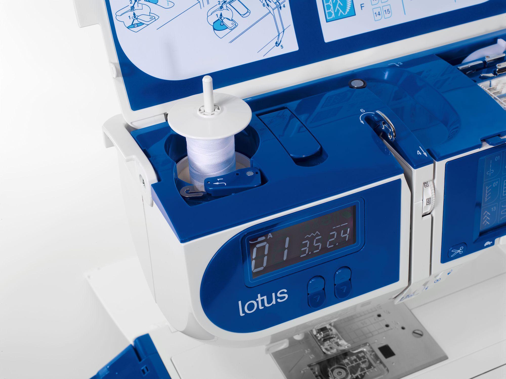 Lotus - Detail Garnrollenhalter